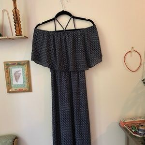 $248 NWT Anthropologie Natalie Embroidered Wide Leg Jumpsuit By Aijek Sz 4 Large